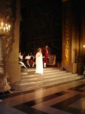 ensemble in Painted Hall